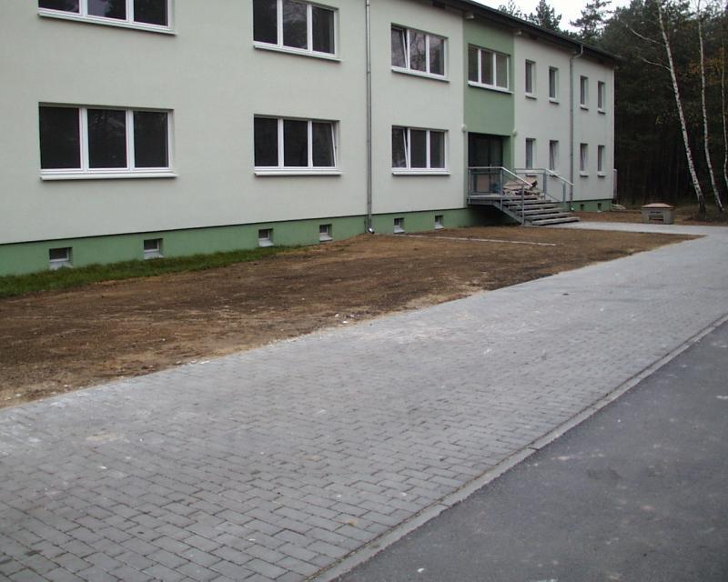 Komplettsanierung Des Gebäudes Nr 5 Auf Dem Truppenübungsplatz