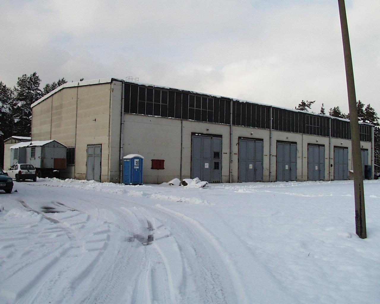 Sanierung Kfz Wartungshalle Auf Dem Truppenübungsplatz Oberlausitz