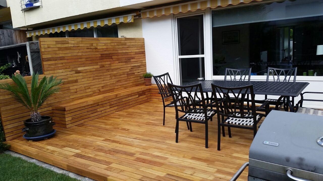 ehrf rchtige robinie terrasse haus design ideen. Black Bedroom Furniture Sets. Home Design Ideas