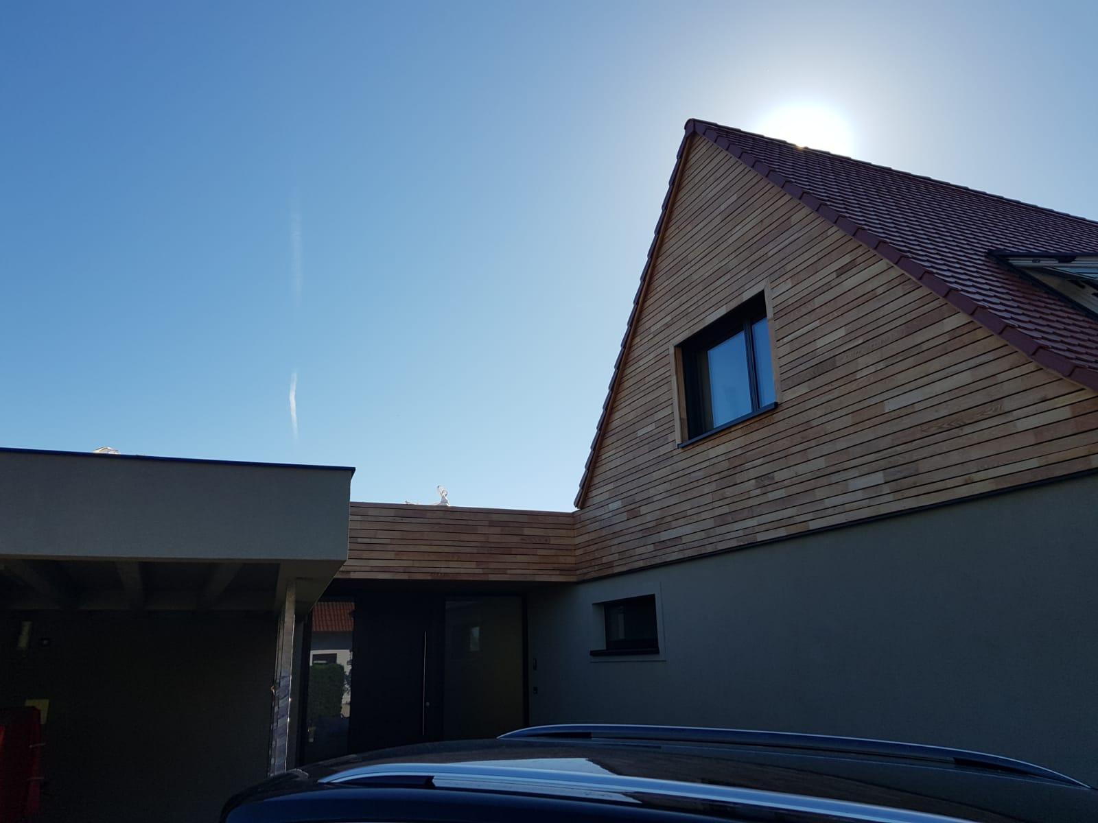 naturliches robinienholz im einklang mit modernster architektur ein highlight fur die ewigkeit wir haben